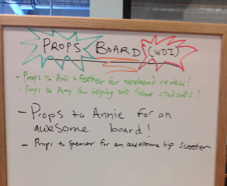 Props Board